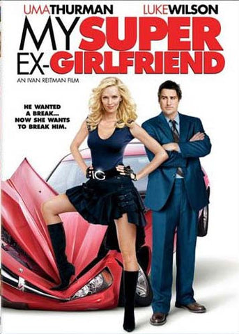 My Super Ex-Girlfriend(Bilingual) DVD Movie