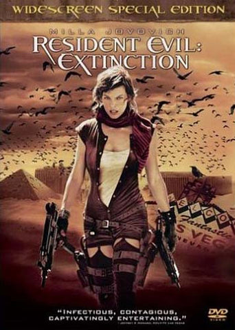 Resident Evil - Extinction (Widescreen Special Edition) DVD Movie