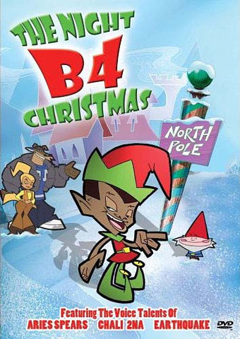 The Night B4 Christmas (Full Screen and Widescreen) DVD Movie