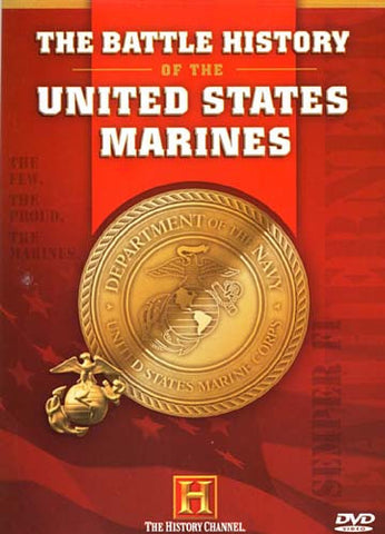The Battle History of the United States Marines (The History Channel) DVD Movie