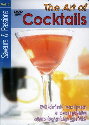 The Art of Cocktails - Vol. 3 (Saveur and Passion) (Fullscreen) DVD Movie
