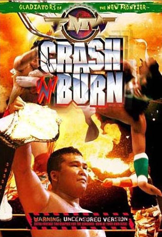 FMW (Frontier Martial Arts Wrestling ) - Crash & Burn DVD Movie