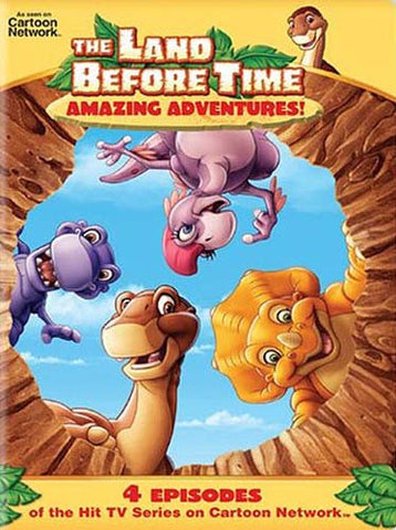 The Land Before Time - Amazing Adventures (4 Episodes) DVD Movie