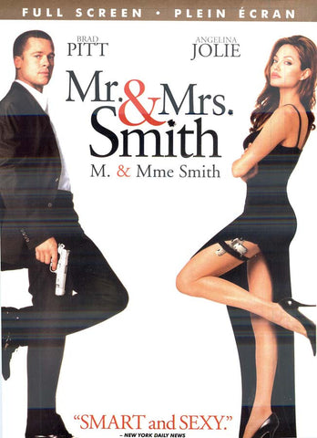 Mr. and Mrs. Smith (Brad Pitt)(Full Screen Edition) (Bilingual) DVD Movie