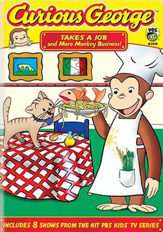 Curious George - Takes a Job and More Monkey Business (Fullscreen) DVD Movie