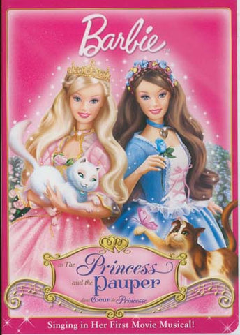 Barbie As The Princess and the Pauper DVD Movie