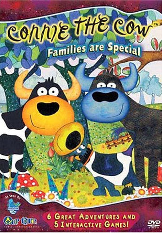 Connie the Cow - Families are Special DVD Movie