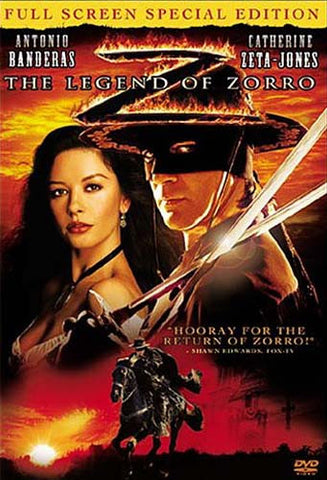 The Legend of Zorro (Fullscreen Special Edition) DVD Movie