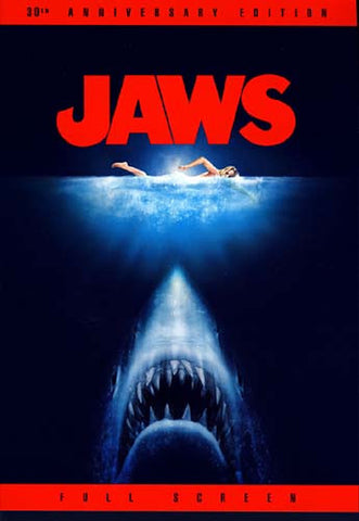 Jaws (Full Screen 30th Anniversary Edition) DVD Movie