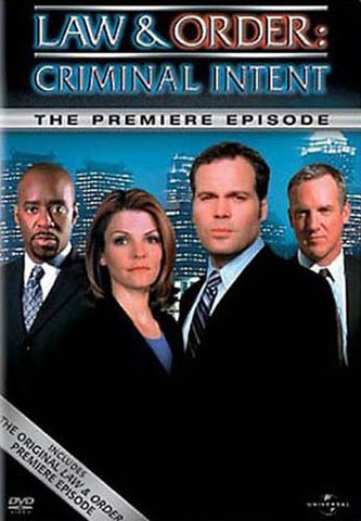 Law and Order - Criminal Intent - The Premiere Episode DVD Movie