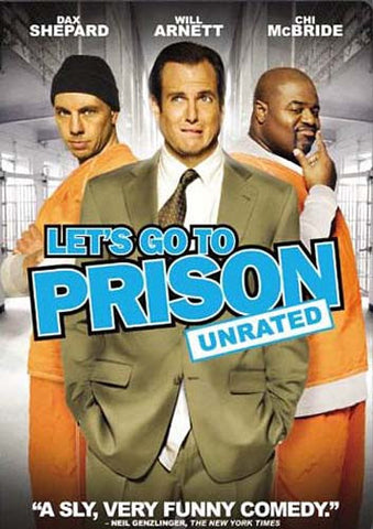 Let s Go to Prison (Rated and Unrated Versions)(bilingual) DVD Movie