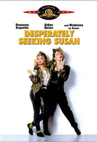 Desperately Seeking Susan DVD Movie