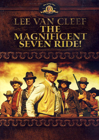 The Magnificent Seven Ride DVD Movie