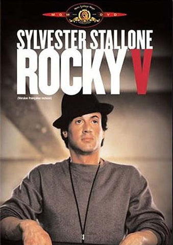 Rocky 5 (Full Screen and Widescreen) (Black Cover) (Bilingual) DVD Movie