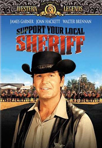 Support Your Local Sheriff DVD Movie