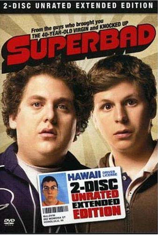 Superbad - Two-Disc Unrated Extended Edition (With Bonus Skullcap) (Boxset) DVD Movie