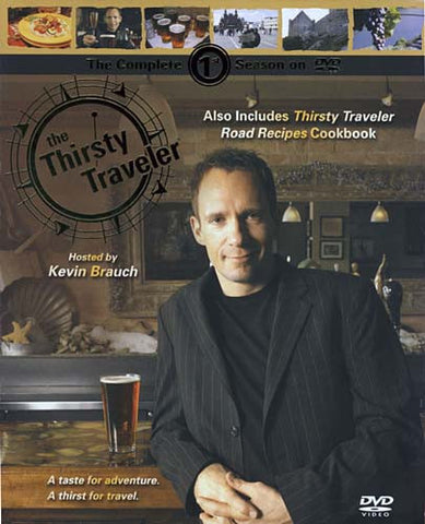 The Thirsty Traveler - Season 1(Includes Thirsty Traveler Road Recipes Cookbook) (Boxset) DVD Movie