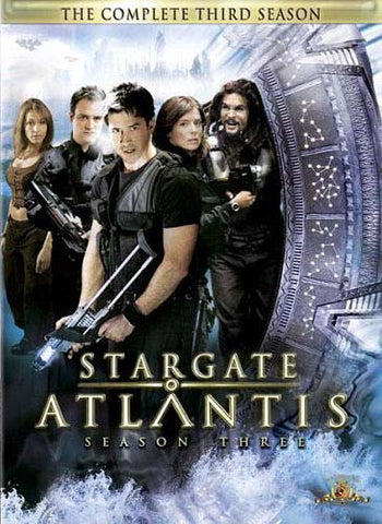 Stargate Atlantis - The Complete Third (3rd) Season (Boxset) (MGM) DVD Movie