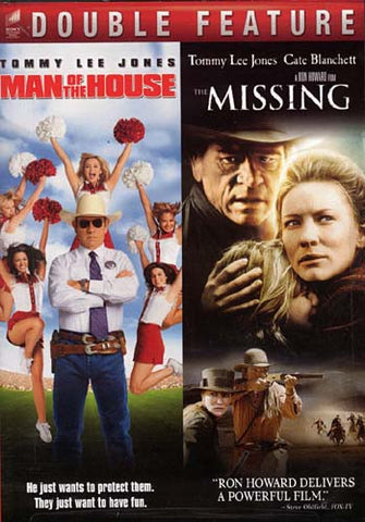 Man of the house / The missing - Double feature DVD Movie