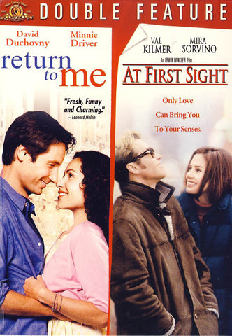 Return to Me / At First Sight (Double Feature) DVD Movie