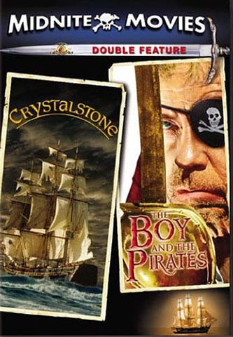 Crystalstone / The Boy and the Pirates (Midnite Movies) DVD Movie