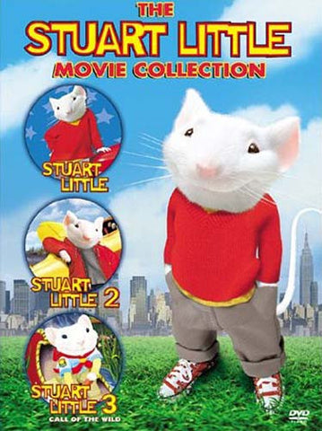 The Stuart Little (Stuart Little, Stuart Little 2, Stuart Little 3) (Movie Collection) (Boxset) DVD Movie