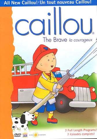 Caillou - The Brave (La courageux) DVD Movie