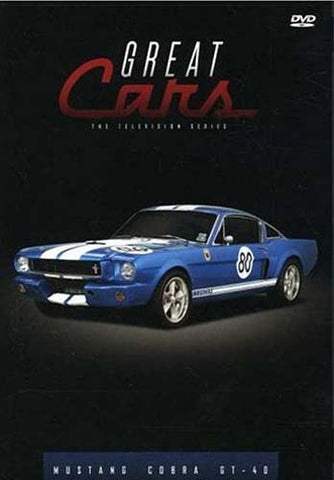 Great Cars - Mustang / Cobra / GT-40 DVD Movie