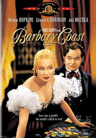 Barbary Coast (MGM) DVD Movie