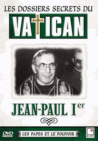 Les dossiers secrets du Vatican - Jean-Paul I (Bilingual) DVD Movie
