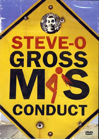 Steve-O - Gross Misconduct DVD Movie