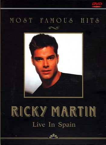 Ricky Martin - Live In Spain (Most Famous Hits) DVD Movie