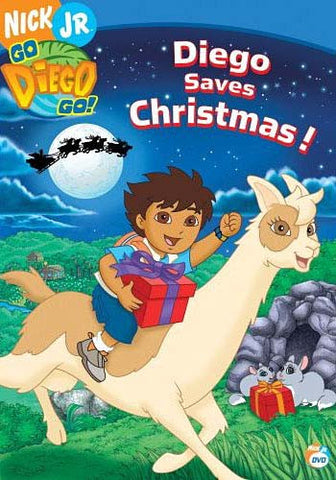 Go Diego Go! - Diego Saves Christmas! DVD Movie