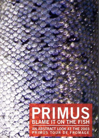 Primus - Blame It On The Fish DVD Movie