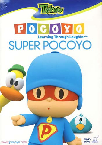 Pocoyo - Super Pocoyo (Learning Through Laughter) DVD Movie