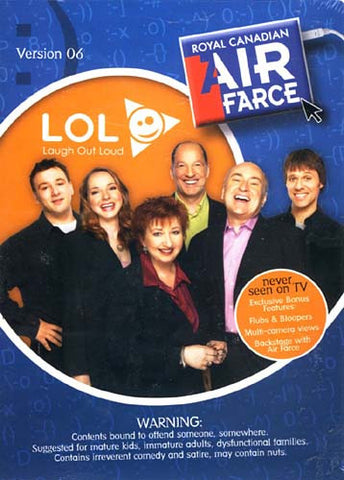 Royal Canadian Air Farce - Version.06 - LOL (Laugh Out Loud) DVD Movie