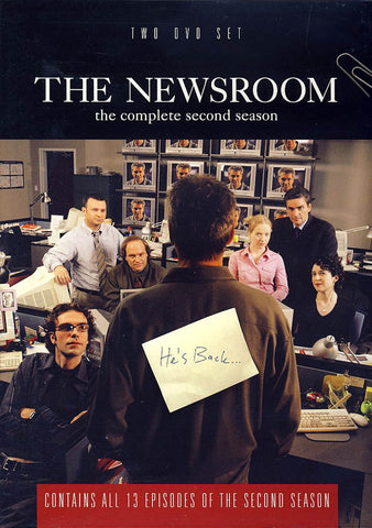 The Newsroom - The Complete Second Season DVD Movie
