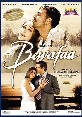 Bewafaa (Original Hindi Language With English Subtitle) DVD Movie
