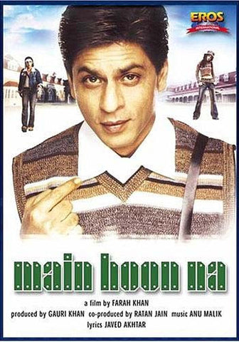 Main Hoon Na (Original Hindi Movie) DVD Movie