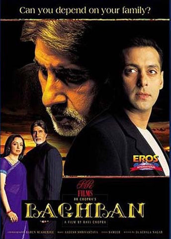 Baghban (Original Hindi Movie) DVD Movie
