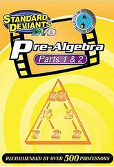 Standard Deviants - Pre-Algebra - Part 1 and 2 (Boxset)