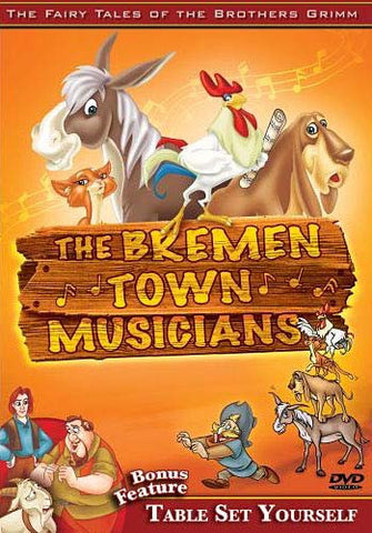 Bremen Town Musicians, The / Table Set your Self DVD Movie