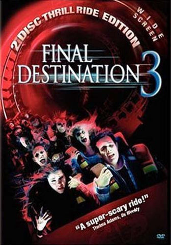 Final Destination 3 (Two Disc Thrill Ride Edition) (Widescreen) (Bilingual) DVD Movie