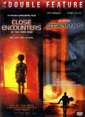 Close Encounters of the Third Kind / Starman (Double Feature) DVD Movie