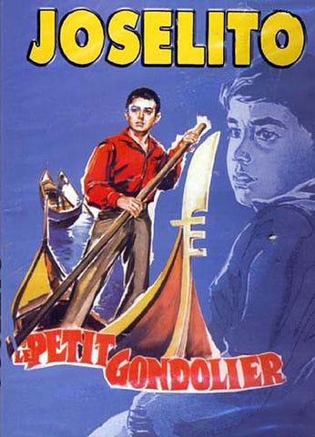 Joselito - Le Petit Gondolier DVD Movie