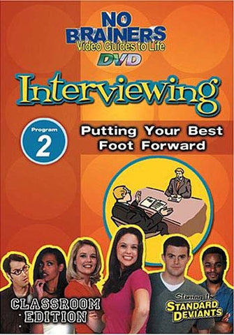 Standard Deviants No Brainers Interviewing Program 2 Putting Your Best Foot Forward DVD Movie