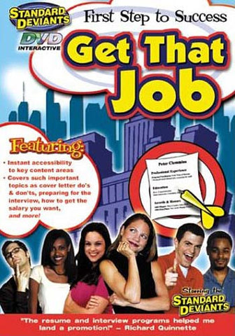 Standard Deviants - Jumpstart Your Career-Get That Job DVD Movie
