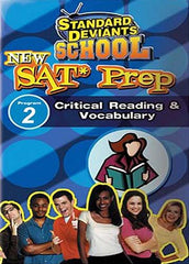 Standard Deviants School - New SAT Prep: Program 2 - Critical Reading & Vocabulary
