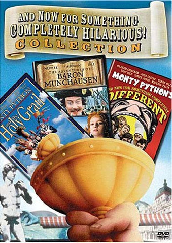 And now For Something Completely Hilarious Collection - Monty Python (Triple Feature)(Boxset) DVD Movie