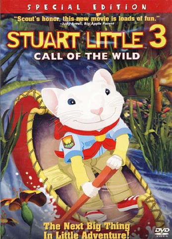 Stuart Little 3 - Call Of The Wild (Special Edition) (NO Keychain) DVD Movie